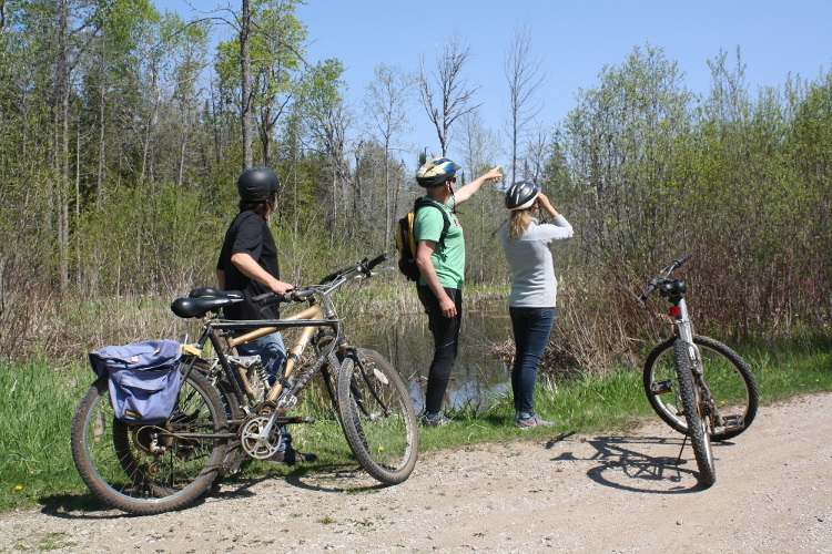 Biking the bruce 1